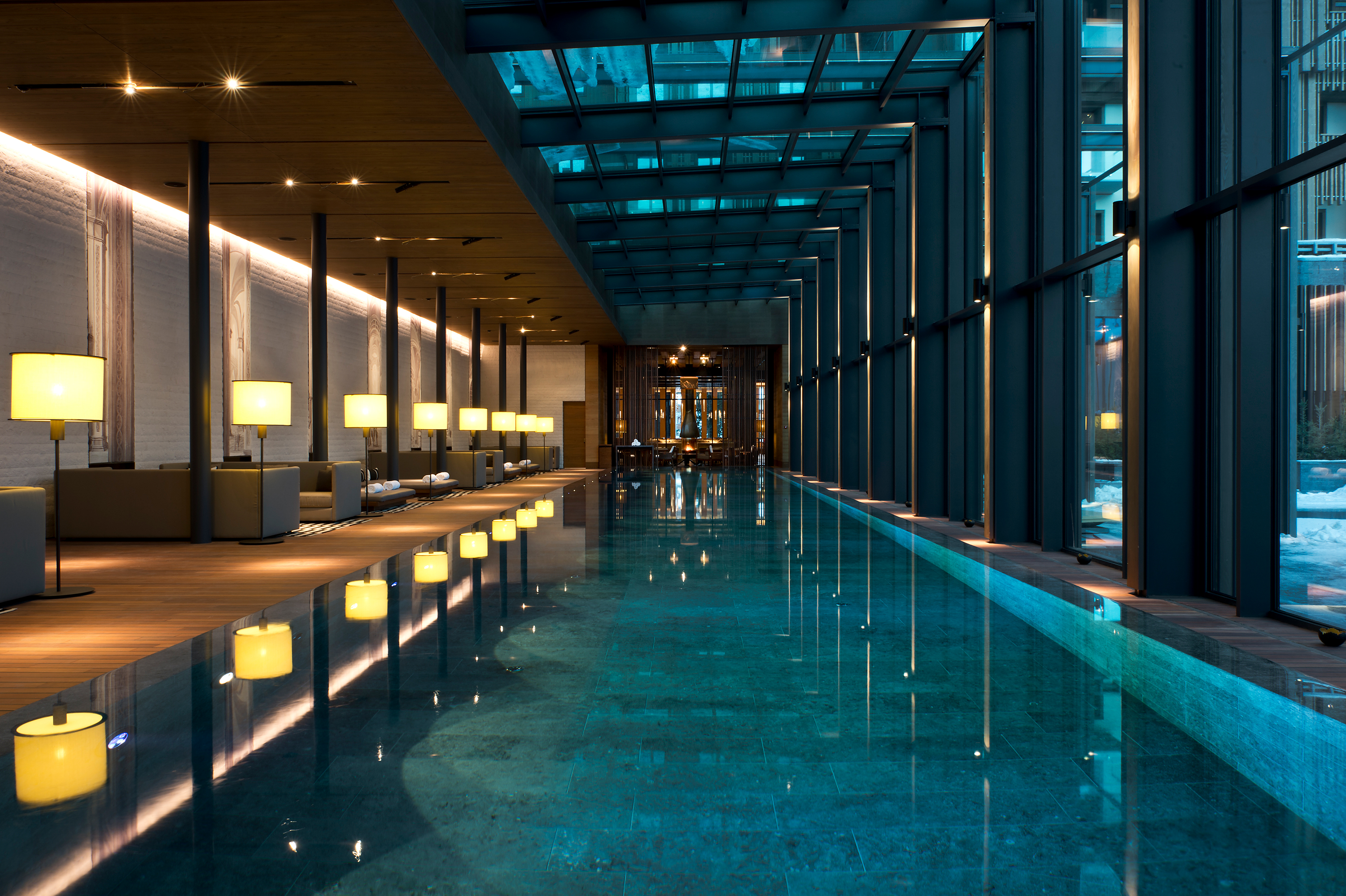 Hotel-The Chedi-Wellness-Indoor Pool